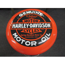 Harley Orange Bar Stool