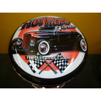 Hot Rods Forever Bar Stool