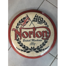 Norton British Machines Bar Stool