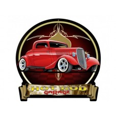 1934 Ford Red Banner tin metal sign