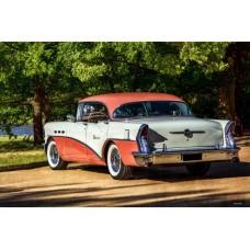 1956 Buick 2 tin metal sign