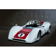 1968 Can-Am Lola T160 tin metal sign