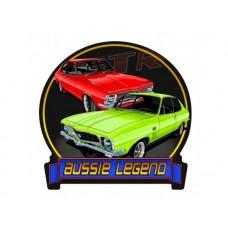 Aussie Legend Torana Banner tin metal sign