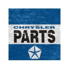 Chrysler Blue tin metal sign