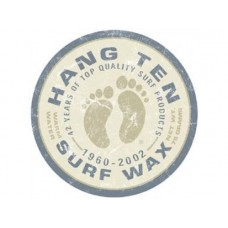 Hang Ten Surf Wax tin metal sign