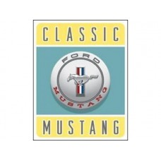 Ford-Classic Mustang tin metal sign