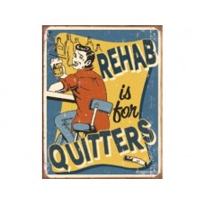 Schoenberg-Rehab tin metal sign