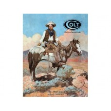 Colt- Tex and Patches tin metal sign