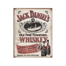 Jack Daniels Sippin Whiskey tin metal sign