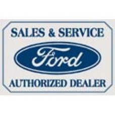 Ford Logo tin metal sign