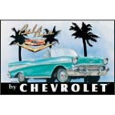 Chevy Bel Air tin metal sign