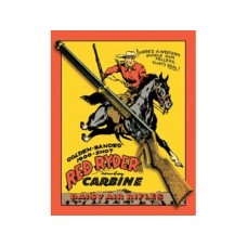 Daisy Red Ryder tin metal sign
