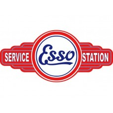Esso Service Station tin metal sign