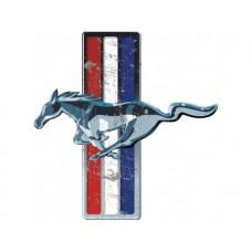 Mustang Emblem tin metal sign