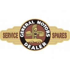 GMH Holden Service Station tin metal sign
