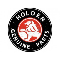 Holden Genuine Parts Large Round tin metal sign