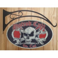 Hot Rod Cult Spanners tin metal sign