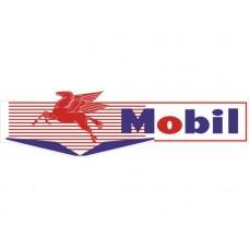 Mobilgas Bowtie tin metal sign