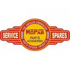 Mopar Service Station tin metal sign