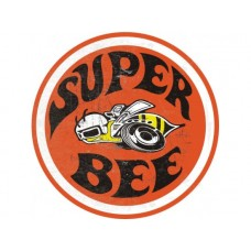 Super Bee tin metal sign
