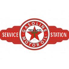 Texaco Service Station tin metal sign