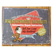 BKG-Wrenchtwister tin metal sign