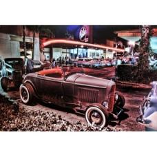 Bob's 1932 Roadster tin metal sign