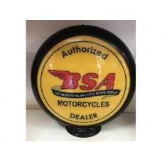 Petrol Bowser Globe BSA Yellow