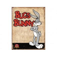Bugs Bunny tin metal sign