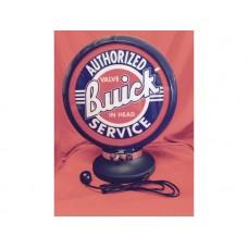 Petrol Bowser Globe and Base Buick illuminated sign