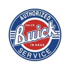 Buick Service tin metal sign