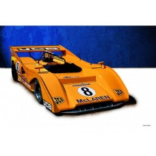 Can-Am McLaren M8F tin metal sign