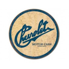 Chevy Historic Logo tin metal sign