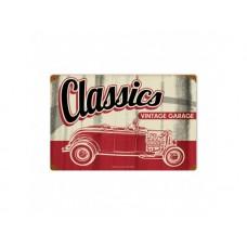 Classics Vintage Garage tin metal sign