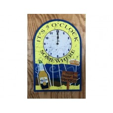 Corona Retro Clock tin metal sign