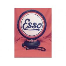 Petrol Bowser Globe and Base Esso illuminated sign