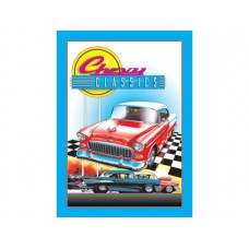 Chevy Classics tin metal sign