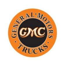 GMC Trucks tin metal sign