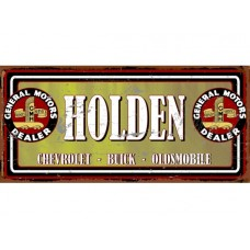 GMH Holden Dealer tin metal sign