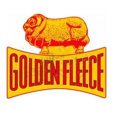 Golden Fleece Dog Bone tin metal sign