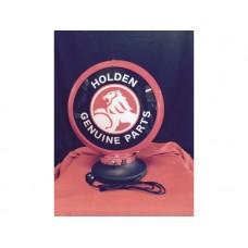 Petrol Bowser Globe and Base Holden Genuine Parts illuminated sign