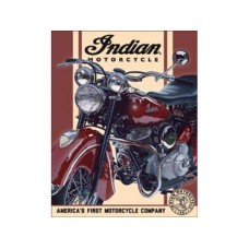 Indian-'48 Chief tin metal sign