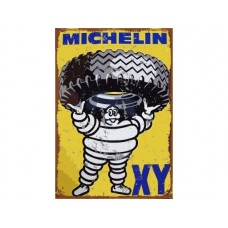 Michelin XY tin metal sign