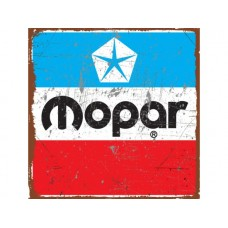 Mopar Pentastar tin metal sign