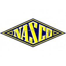 Nasco Diamond tin metal sign