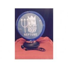 Petrol Bowser Globe and Base Neptune illuminated sign