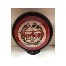 Petrol Bowser Globe Norton Flags