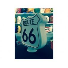 Petrol Bowser Globe Route 66