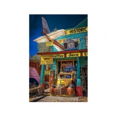 Route 66 Seligman Store Front tin metal sign