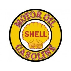 Shell Gas and Oil tin metal sign